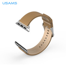 38mm lady luxury leather strap for apple watch