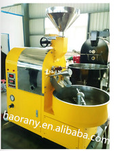 3kg capacity gas coffee bean roaster with high quality for sale