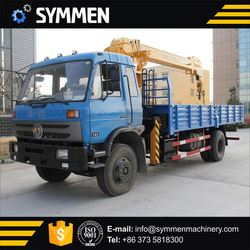 Construction Machinery 10 Tons Telescope Truck Cranes Manufacturer With 70Ton