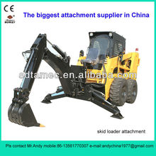skid steer loader backhoe (skid loader attachment,bobcat attachment)