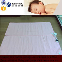 Single size electric heating blanket heated under bed sheet with over heat protection