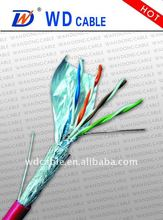 CE,ISO,CCC certificated cat5e cable networking colour coding