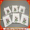 White Wholesale Muslin Cotton Drawstring Bags