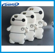 baymax cheap high quality Shell Soft PC Silicone Gel Back Skin Cover Case for iphone 5 5s 6 6plus wholesale