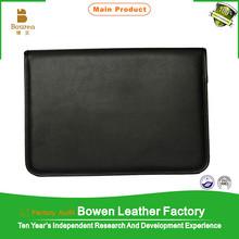 customize PU PVC leather file covers