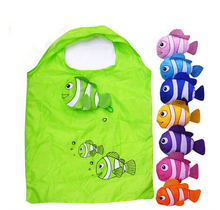 Cute Style Foldable Polyester Shopping Bag