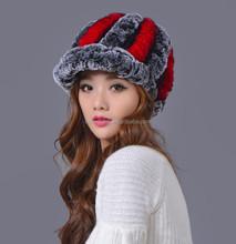 Fashion custom knit hats raccoon tails