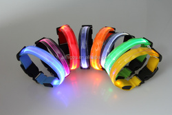 2015 cheap stock wholesale LED dog collar charms for sale