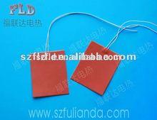 Personalizado 3.7v 5v 7.4v 9v 12v 24v 36v 48v 60v calentador de tambor de silicona para la cera con la certificación CE RoHS