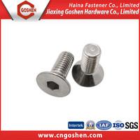ISO10642 Inner hexagon countersunk head machine screw