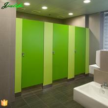 Over 10 years useful life hpl waterproof toilet cubicle