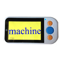 4.3inch portable electronic video magnifier