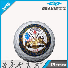 Colorful logo customized verious golf ball