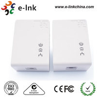 500Mbps Wallmount Powerline Network Adapter