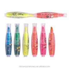 best selling bowling shape highlighter pen ,fluorescent marker pen