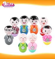 Baoli 1225 Preschool Plastic Tumbler Toy for Family Set