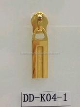gold nylon slider for purse