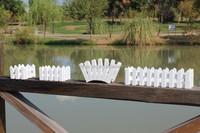 Hot sale types of mini flower wooden fences/models of wooden fences designs