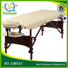 High quality wood stationary massage table with new design