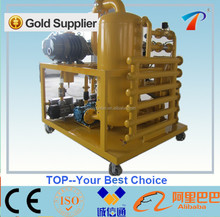Transformer Oil Restoration equipment removes solid malter, dissolved gases and moisture from oils, variable flow rate, ISO/CE