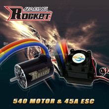 Rc car ESC 45A and motor IO 3.7A combo RC toy - 1/10th Scale 4wd Brushless Moto rPowered off-Road Buggy Booster-Pro