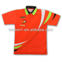 Bright polyester sublimation t-shirt Custom T-shirts sublimation polo t shirts
