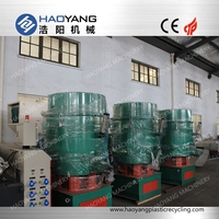advanced plastic film recycling 100-800kg/h polyethylene agglomerator machine