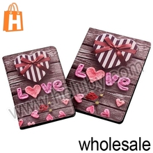 Chocolate Love Pattern Flip Stand PC+Leather Case for iPad Mini 2 Retina