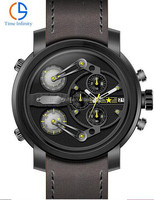 3 movements multifunction oversize new times big dial watch for men American watch