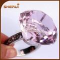 venta al por mayor a granel anillo de servilleta para la decoración de la boda