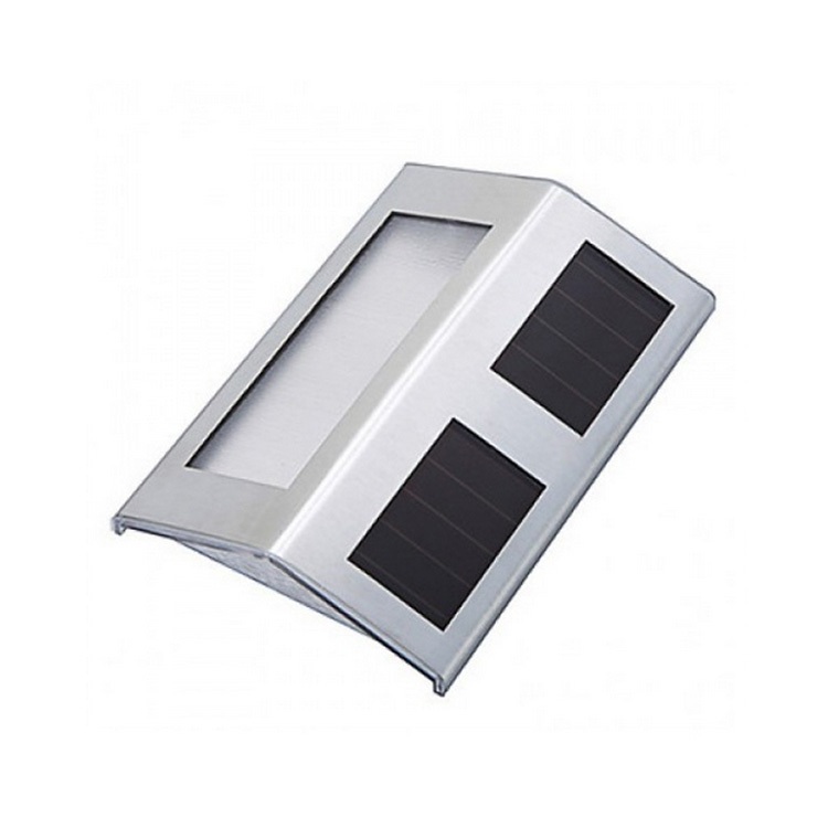 Modern Wall Mounted Stainless Steel Garden Solar Stair Step Lights - Buy Modern Wall Mounted ...