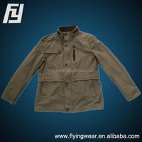 Spring and Autumn New Men's Jackets Thin Cotton Casual Men's Coat