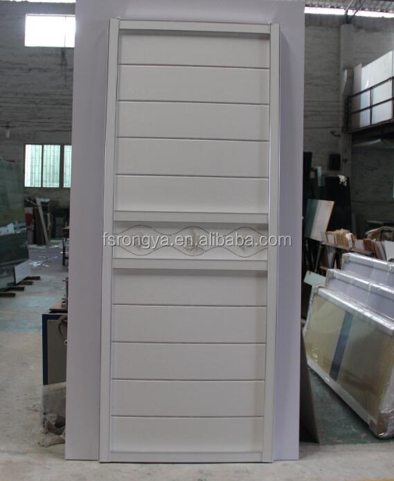 Cheap pvc coated interior sliding door for india market for Cheap pvc door