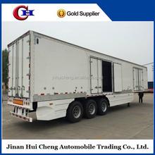 TOP sell Transport dry cargo fiberglass van enclosed trailers in low factory price