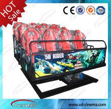 Electric/Hydraulic Mobile indoor amusement 12d cinema theatre