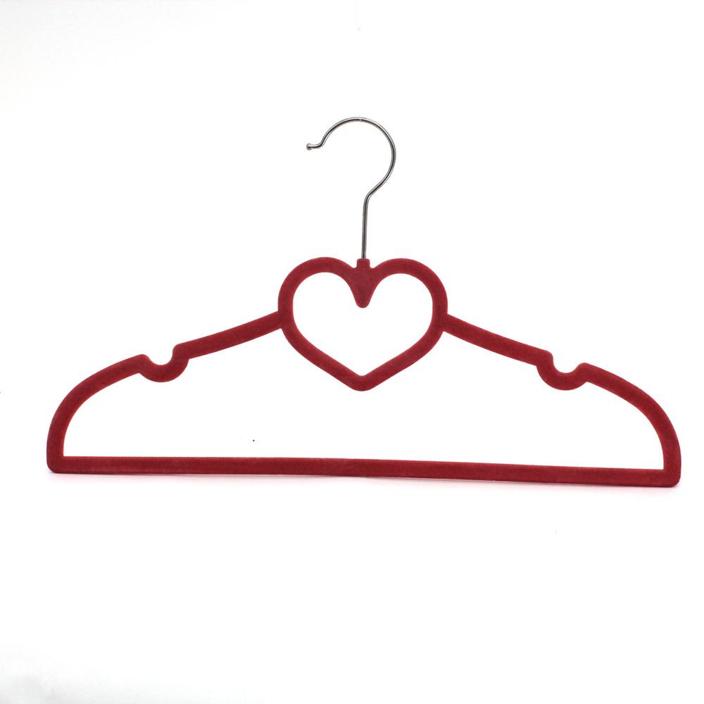 Wholesale new fashion velvet hanger cheap velvet flocked ...