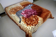super soft thick raschel blanket Alibaba Express