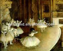 Beautiful white swan famous ballet paintings