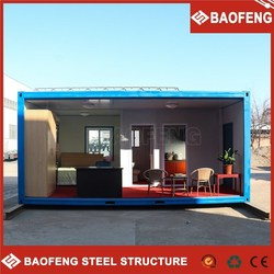 2015 the latest design withstand wind 20ft container office for sale
