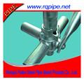 Galvanizado en caliente cuplock scaffoldings sistema