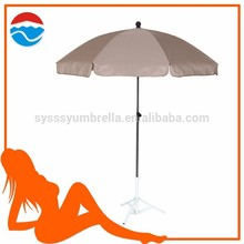 200cm x8K <span class=keywords><strong>paraguas</strong></span> <span class=keywords><strong>de</strong></span> color marrón para la playa