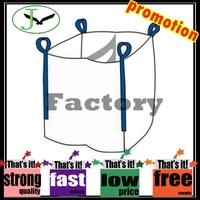 100% pp woven high quality 800kg jumbo bag tonne bag factory in shandong china