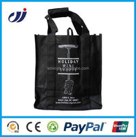 Direct Factory foldable zipper tote bag,foldable recycle bag,foldable non woven bag