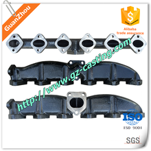 Ductile iron intake manifolds OEM casting products from alibaba supplier China manufacturer with material steel aluminum iron
