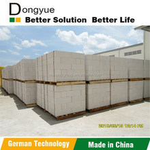 CHINA ISO Factory made light weight concrete AAC blocks Australia New zealand for hot sale partition walls