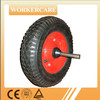 4.00-8 Wheelbarrow tire tube with steel rim and axle