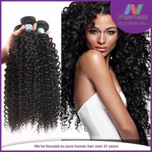 Alibaba high quality virgin remy100% human hair curly Yaki braid styles