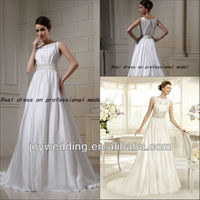 13590 Free shipping real sample photos pictures plus size muslim wedding gown 2013