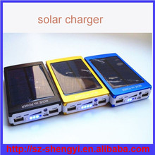 Solar Rechargeable PB-S6 battery charger solar brand