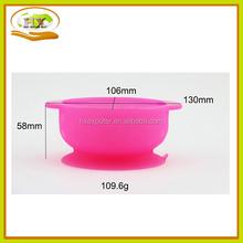 Baby Sucker Feeding Bowl and Heat-sensitive Spoon Slip-resistant Bowl Set